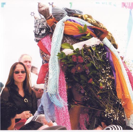 הקונסולית הכללית של צרפת בחיפה הגב' לואן פורג'רון בטקס חגיגת ל