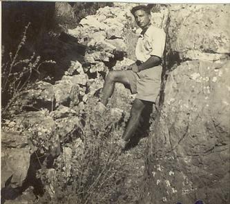 זאב כהן הסייר על המצודה 1943